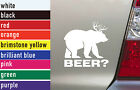 Beer Hunting Vinyl Sticker Decal Car-Truck Laptop-Netbook 1471