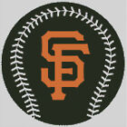 Cross stitch chart, Pattern, San Francisco Giants, Baseball, Major League, MLB