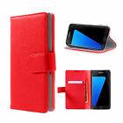 Case Cover For Samsung Galaxy S6 Edge Magnetic Flip Leather Wallet Card Holder <br/> 5 colors To Choose***With Card Holder***
