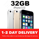 Apple iPhone 5s 32GB 4GGSM 3 COLORS Smartphone 100% Unlocked USED TESTED