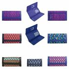 Vera Bradley Trifold Wallet Faux Leather Trimmed NWT $48 4 colors FS