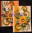 Paper quilling reversible greeting cards high quality hand made by C creation