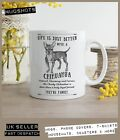 Chihuahua Dog Mug ~ Perfect Gift can be personalised ~ Vintage style