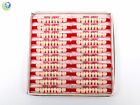 Dental Lab Lower Posterior Acrylic Resin Molars Various Sizes & Shades 160/Box