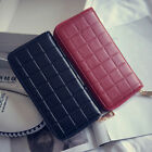 New Women Lady PU Leather Clutch Wallet Long Card Holder Case Purse Handbag