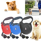Extendable Retractable Pet Leash Dog Lead Leash Training 8M Nylon Harnesses 50kg