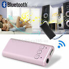 Bluetooth Audio Receiver Music Adapter 3.5mm Stereo Output for Home Audio System