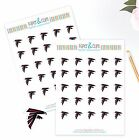 Atlanta Falcons Planner Stickers - Perfect for all Planners like Erin Condren $2.5 USD on eBay