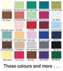8,9,10,12,14,16,18,20,22 Inch INVISIBLE / CONCEALED Zips EVERY Colour & More