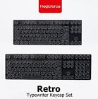 High Quality ABS Typewriter Keycap Set 87/108  Keys For MX Mechanical Switches
