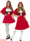 Ladies Red Riding Hood Costume Adults Fairytale Fancy Dress Book Week Outfit