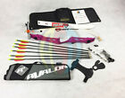"Pink 70"" RHD Core Archery Jet Take Down Recurve Bow & Complete Package"