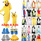 Kids Adults Cute Animal Kigurumi Pajamas Cosplay Ones*e Sleepwear Slippers Shoes