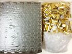 10ml PLAIN 1/3 oz Clear Glass Roll on Bottles With Aluminum