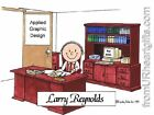 PERSONALIZED CUSTOM CARTOON PRINT - MANAGER/PRESIDENT  - GREAT GIFT! FREE S/H