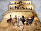 Running horses 4 Piece bedding set   -5 sizes available