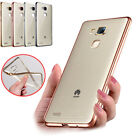 TPU Gel Protective Shell Case Transparent Clear Cover for Huawei P8 P9 P9 plus