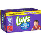 Luvs Super Absorbent Disposable Diapers Family Pack Choose Your Size