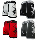3 Pairs Mens Seamless Boxer Shorts Trunks Briefs Adults Novelty Funny Boxers