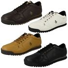 Mens Penguin Lace Up Trainers UK Sizes 6-13 Endurance