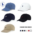 New Polo Ralph Lauren Pony Logo Adjustable Strap Baseball Hat Cotton Cap 1 Size