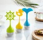 Duck Whale Silicone Tea Infuser Strainer Infuser with Drip Tray ry0411360157