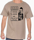 BABY you've got a stew going! Carl Weathers Mens Tan Tee Shirt