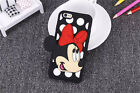 3D Polka Dot Smile Mouse Disney Cartoon Silicone Soft Back Case Cover For Phones