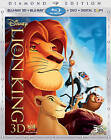 The Lion King  Lion King 2 And 1 2 Blu-ray DVD,  2011,  2-Disc Set
