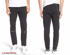LEVI'S 510 Men Stretch Cotton Ripped Skinny Jeans in Black Ash NEW NWT