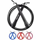 Adjustable Skipping Rope 10ft Exercise Boxing Crossfit Fitness Adults Cable Gym