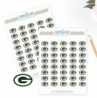 Green Bay Packers Planner Stickers - Perfect for all Planners like Erin Condren $2.5 USD on eBay