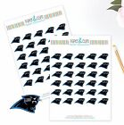 Carolina Panthers Planner Stickers - Perfect for all Planners like Erin Condren $2.5 USD on eBay