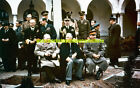 Yalta Conference Photo Military Color Big 3 WW2 1945 Churchill Roosevelt Stalin