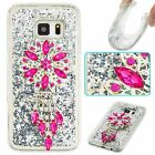 Dynamic Glitter Soft TPU Bling Liquid Diamond Quicksand Case Cover For Samsung