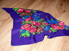 Ladies Womens Girls Floral Folk Vintage Scarves Shawls Scarf NEW  all colours