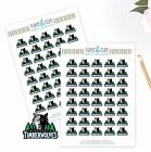 Minnesota Timberwolves Planner Stickers - Perfect for Planners like Erin Condren on eBay