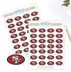 San Francisco 49ers Planner Stickers- Perfect for all Planners like Erin Condren $2.5 USD on eBay