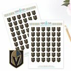 Vegas Golden Knights Planner Stickers - Perfect for Planners like Erin Condren $3.75 USD on eBay