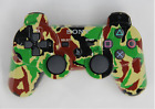 sony playstation 3 PS3  Camouflage color Wireless Bluetooth Game Controller  #p2