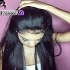 Indian Remy Human Hair Lace Wig Silk Straight Closure 4*4 Lace Closure 8-20''