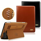 Luxury Genuine Leather Case Smart Auto Sleep Stand Cover For Ipad 2 3 4 Mini Air