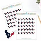 Houston Texans Planner Stickers - Perfect for all Planners like Erin Condren $3.75 USD on eBay