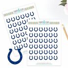 Indianapolis Colts Planner Stickers - Perfect for all Planners like Erin Condren $4.0 USD on eBay