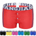 2017 MENS LOW RISE UNDERWEAR TRUNK BRIEF BOXER SHORT PANTS UNDERWEAR 8 COLOURS