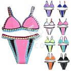 Fashion Brazilian Handmade Crochet Bikini Bra Swimsuit Bathing Swimwear CABK62