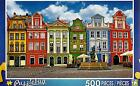 "2016 Jigsaw Puzzle 500pc Colorful Buildings Poland 18.25""X11"" NEW #TY49"