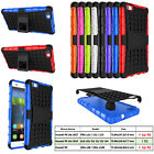Heavy Duty Armor Hybrid Stand Hard Case Cover for Huawei P8lite, ALE-L01,ALE-L02