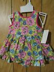 NWT American Living by Ralph Lauren 2 pc FLORAL Infant SUNDRESS SZ 3 mo OR 6 mo
