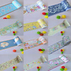 1M PVC Tile Floor Waistline Wall Paper Stickers Decal Home Decorates Bathroom